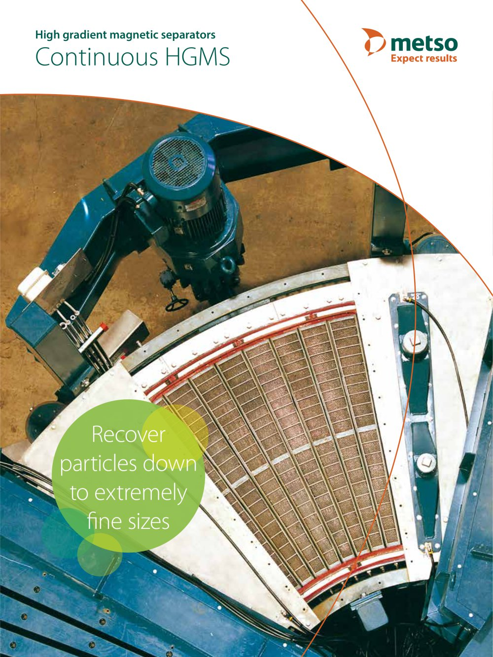 High Gradient Magnetic Separator (HGMS) Continuous Machines Brochure